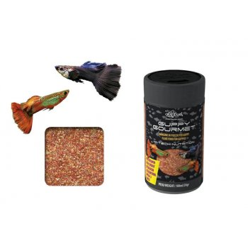 HAQUOSS GUPPY GOURMET, mangime in mini fiocchi per Guppy